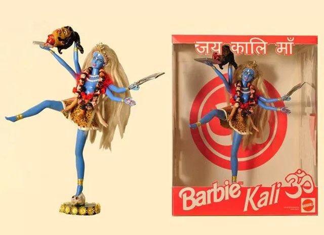 カーリー神バービー人形とかもあるんだな…いろんな意味でヤバいな…