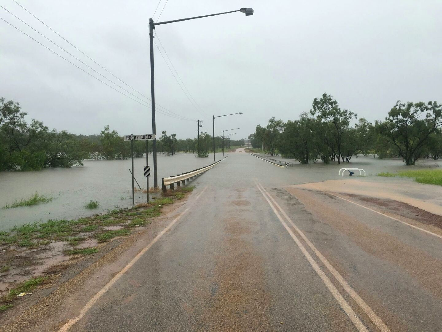 Thumbnail for Ex-Cyclone Alfred brings heavy rain and floods to Gulf of Carpentaria