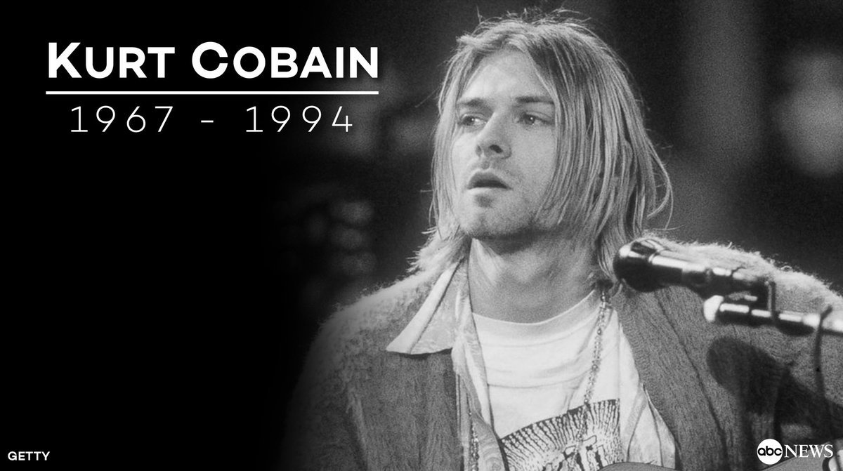 Kurt Cobain was born on this day in 1967. He would have turned 50 year...