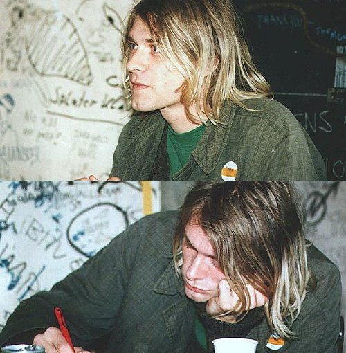 Happy birthday to the most talented and charismatic man ever. Kurt Cobain.