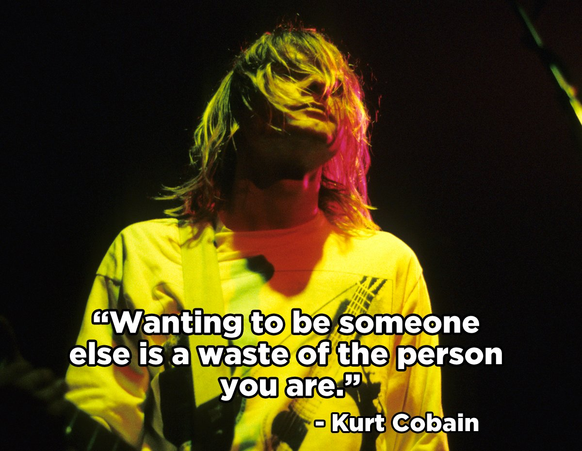 Kurt Cobain would have been 50 today. Legend. RIP. https://t.co/nJ8HKO...