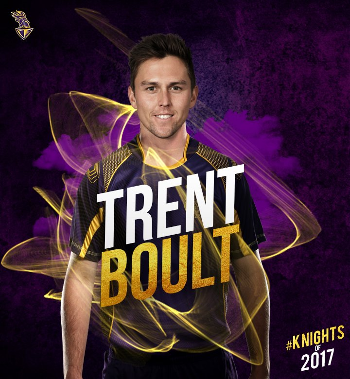 Here to add fire to our bowling attack from New Zealand - @trent_boult...