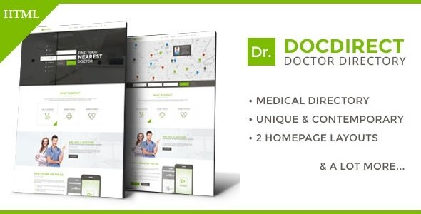 Download this Website Template:  http:// bit.ly/2gOYXkm  &nbsp;   DocDirect - Responsive Directory HTML Template for Healthcare Profession... - #Them <br>http://pic.twitter.com/Ra5oGv5LTh