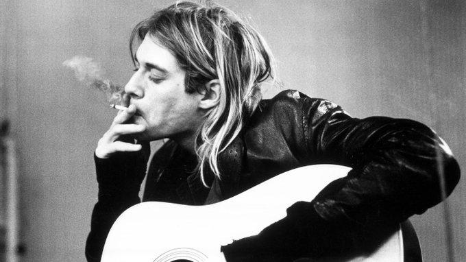 Happy birthday to the late, Kurt Cobain! (February 20, 1967 April 5, 1994)