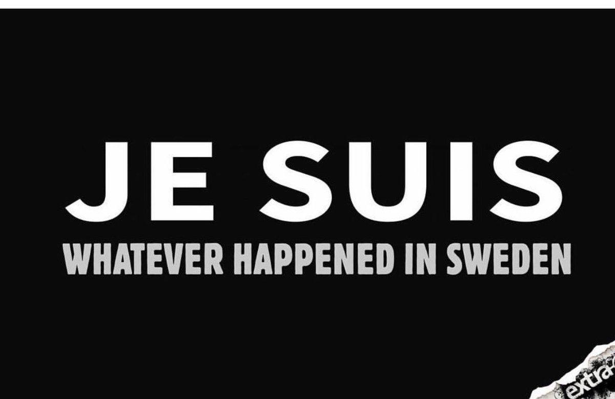 😂 @extra3: Sehr schön!!!! #Schweden #TrumpPressConference https://t.co...