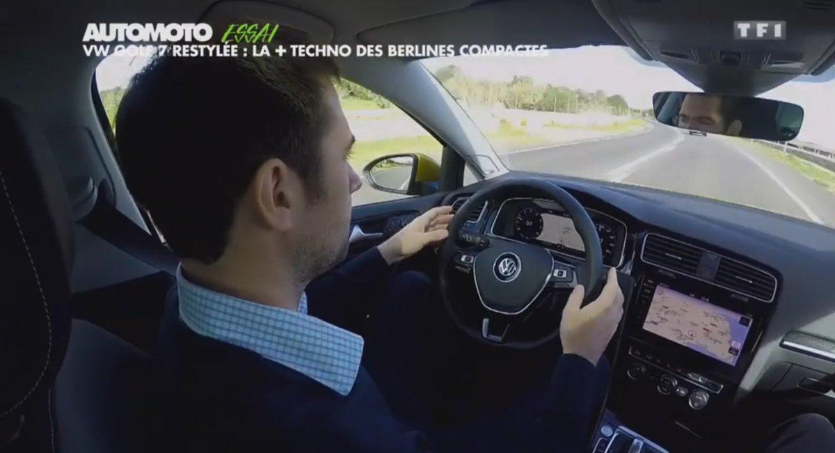 La Volkswagen Golf 2017 est un bijou de technologie. L&#39;essai vidéo ►  http:// ow.ly/7uA63099fQI  &nbsp;   #Golf #VW #Automoto<br>http://pic.twitter.com/h9OYWKFygx