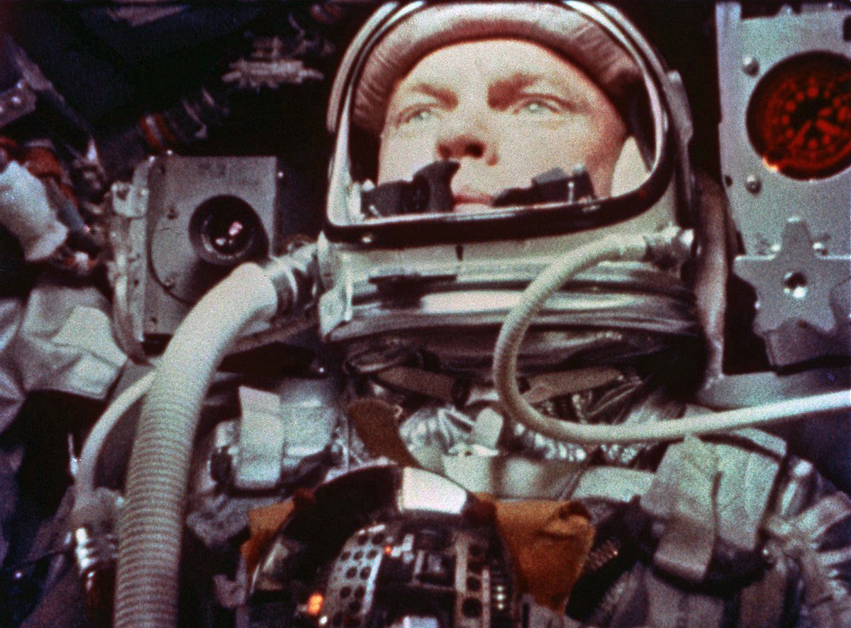 #OTD in 1962, John Glenn became the first U.S. astronaut to orbit the Earth.  https://t.co/aZIUmnclyZ