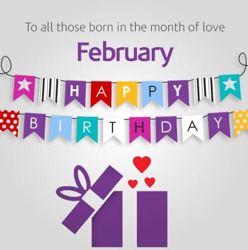 Image result for happy february birthday images