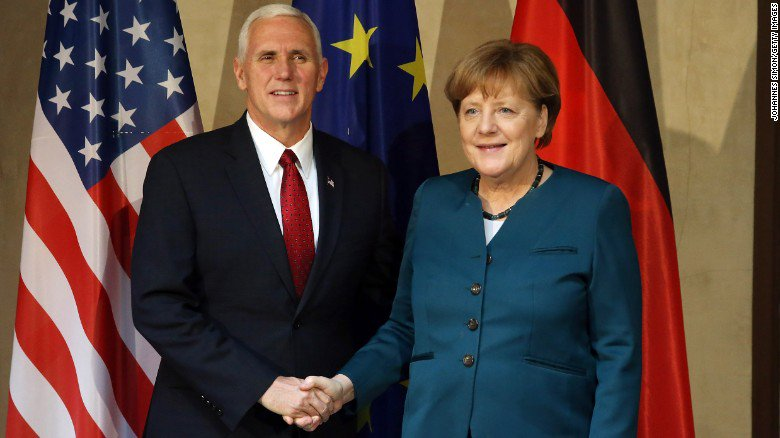 Vice President Pence visits a former Nazi concentration camp https://t...