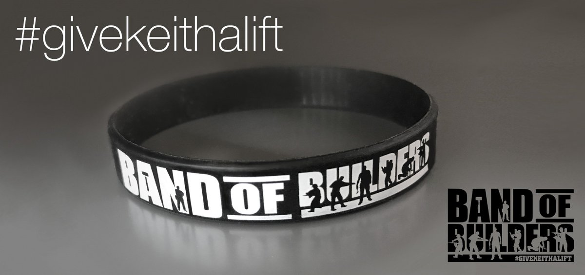 Are you following @bandofbuilders_? Have you seen the products on our website? Wear it with pride to support #liftkeith #TogetherStronger  <br>http://pic.twitter.com/aG85k3aYDX