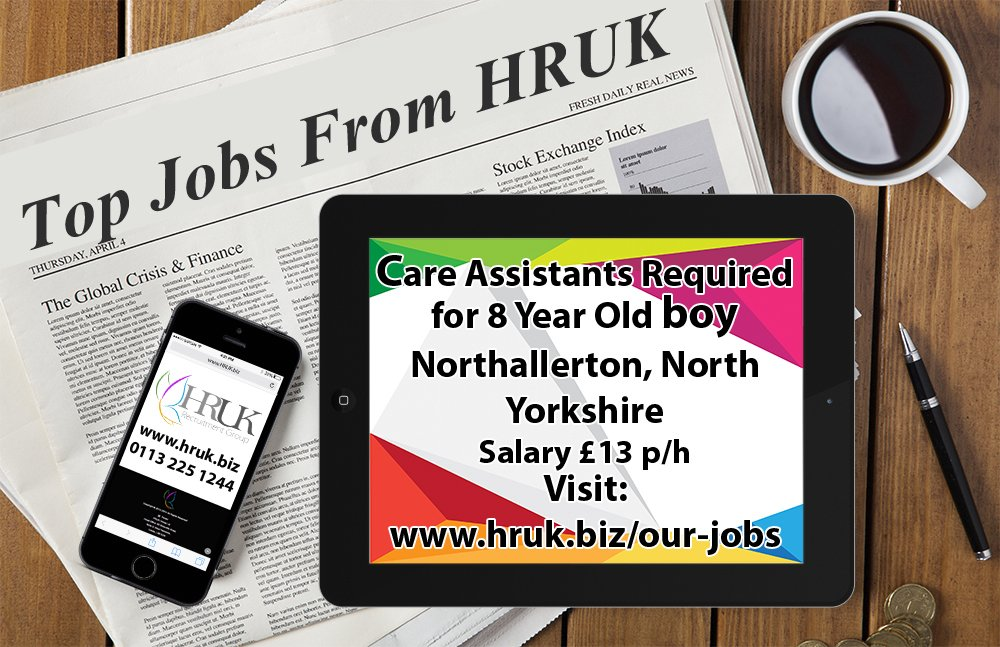 *TOP JOB* - #Care #Assistants #Required #for #8 #Year #Old #boy based in #Northallerton, #North #Yorkshire -  https:// hruk.biz/job/care-assis tants-required-for-8-year-old-boy/ &nbsp; …  - #HRUK<br>http://pic.twitter.com/dV21uTXkU1