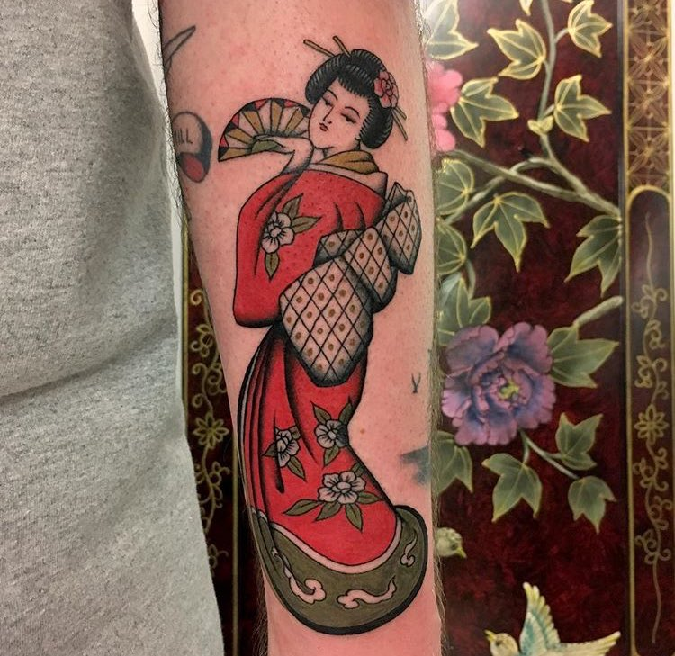 The Tattoo Company On Twitter Geisha By Olivia Dawn Wilmslow