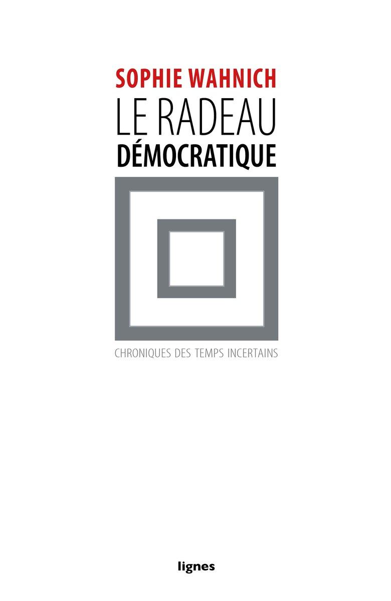 Sophie Wahnich : &quot;Le radeau, c'est comment produire une embarcation pour traverser les temps de naufrage&quot; @franceculture #democracy <br>http://pic.twitter.com/CuTVzatTzy