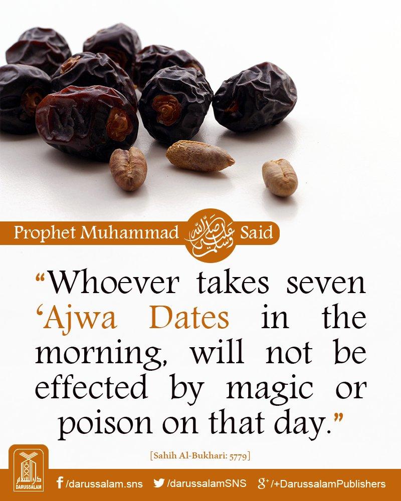 ajwa dates hadith