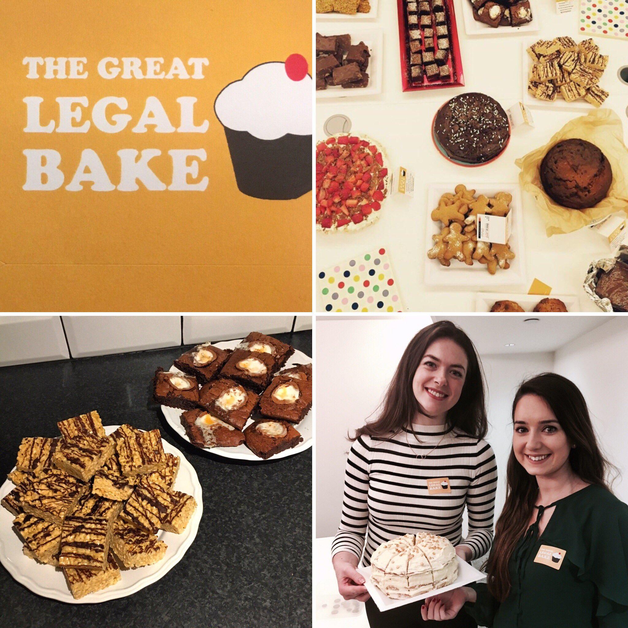 The @greatlegalbake is in full swing here! @londonlegal #greatlegalbake #legalbakeoff https://t.co/hzhXBITSYk