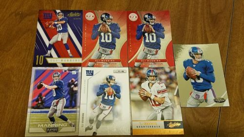 #Card Lot #EliManning, R &amp; S, Absolute, Certified, Panini Playoff, Non Auto  http:// dlvr.it/NQlbGd  &nbsp;   #NFL #Giants <br>http://pic.twitter.com/sa9ckRsHYo