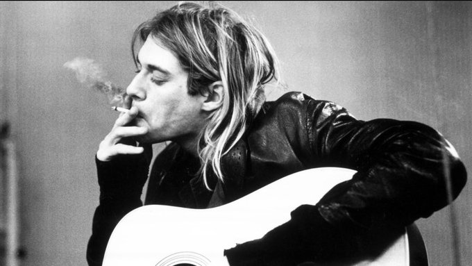 Happy birthday Kurt Cobain, R.I.P.