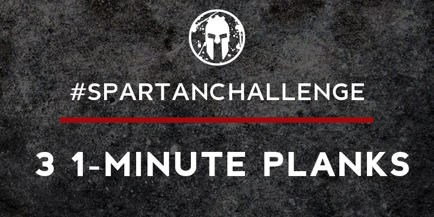 Sometimes you need to go back to the basics. Do your #SpartanChallenge...