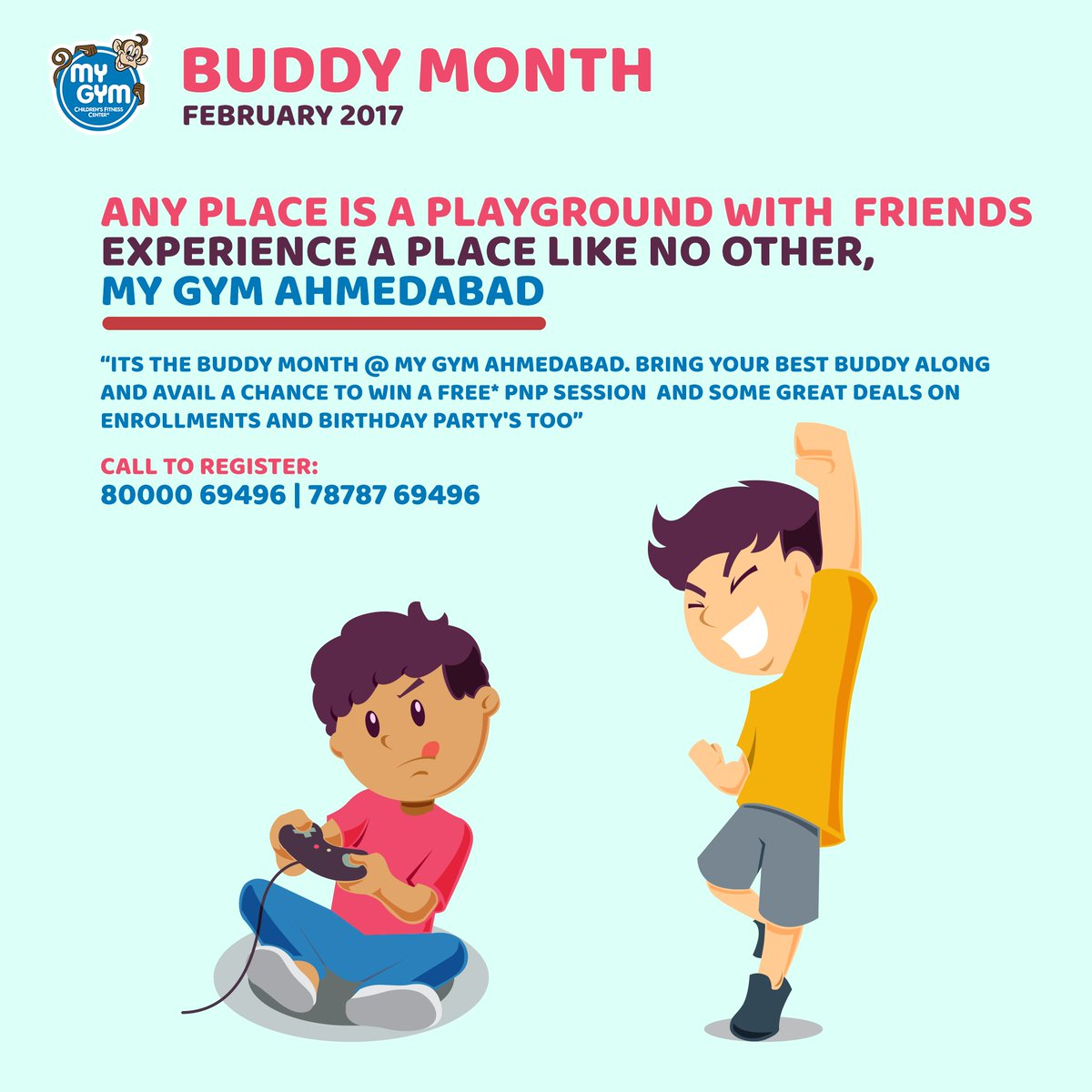 My Gym Ahmedabad On Twitter Buddy Month Starts At MyGym