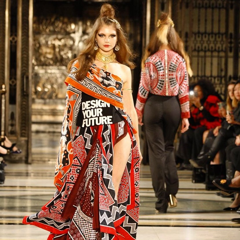 We've made history again! #Limkokwing is the only University to walk the #LFW 2017 runway. #LKWRocksLFW https://t.co/giVb8KAtFc