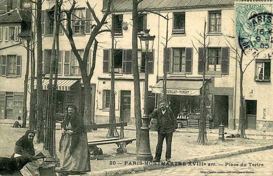 La place du Tertre à #Montmartre comme vs ne la verrez jamais plus ! #Paris #tourisme #France #histoire #tourism #Turismo #vintage<br>http://pic.twitter.com/tpY4cq4iLS