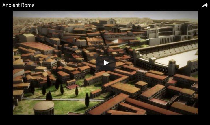 Vidéo: reconstitution virtuelle de #Rome vers 320 ap. J.-C. #Histoire  https:// romaaeterna753.wordpress.com/2016/11/12/vid eo-reconstitution-virtuelle-de-rome-vers-320-ap-j-c/ &nbsp; …  @APHG_National @ArreteTonChar1 @Les_Immortels<br>http://pic.twitter.com/9KDEwmc51W