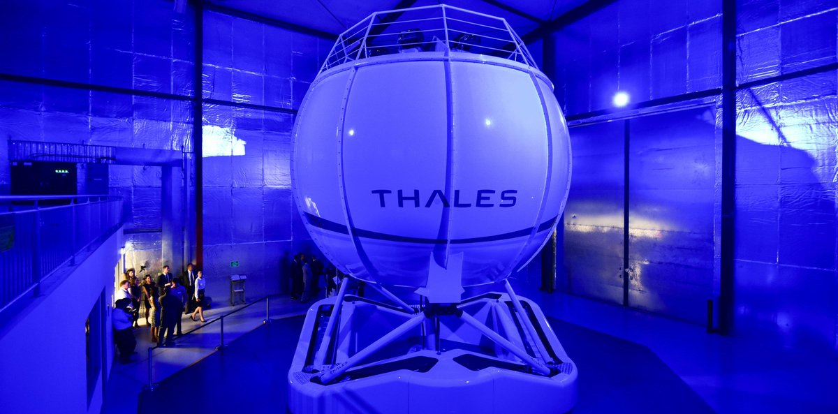 #Thales Reality H, the most advanced Full Flight Simulator for mission-readiness. Watch more here https://t.co/XjhphA0xsY #training