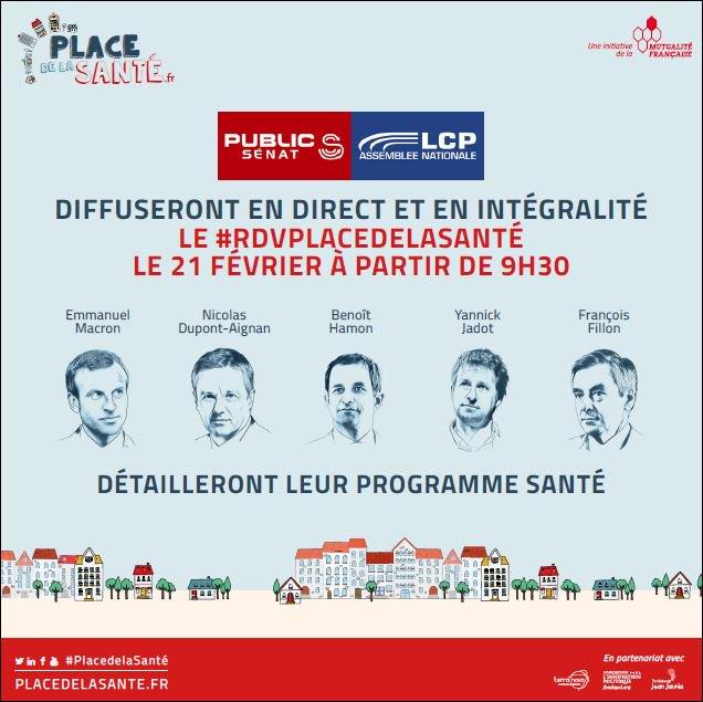 Thumbnail for PLACE DE LA SANTE : LE PROGRAMME SANTE DES CANDIDATS #moipatient