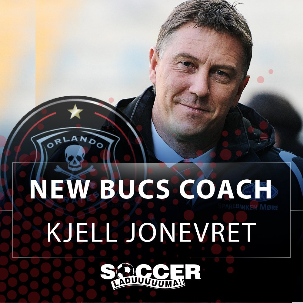 Breaking: The new Orlando Pirates coach is Kjell Jonevret. #SLnews htt...