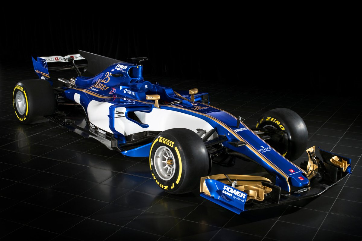 Sauber has become the second #F1 team to unveil its 2017 car, the new-...