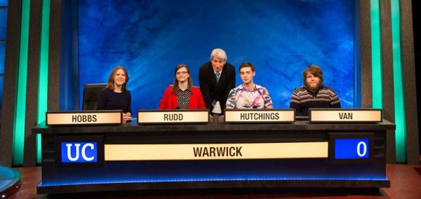 BBC Two in five minutes - settle in for @WarwickQuizSoc on #University...