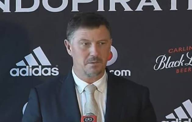Swede Kjell Jonevret appointed as the new Orlando Pirates coach on a t...