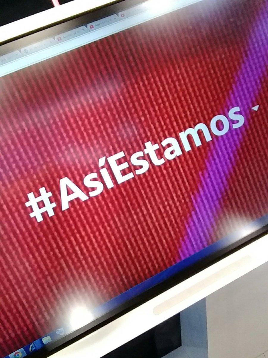 Hoy participá en Buenos Días América usando #AsíEstamos y te leemos al...