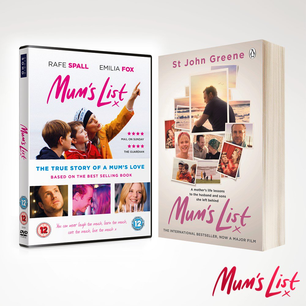 "Mum's List Film on Twitter: ""Congratulations to @Alidilly, @hunterSC &  @LouMWrites who have all won a #MumsList DVD and book! Please DM us your  full name ..."