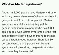 Who is affected by #marfan syndrome? #mondaymotivation #FactoftheDay #raredisease <br>http://pic.twitter.com/UEuHgmCe2b