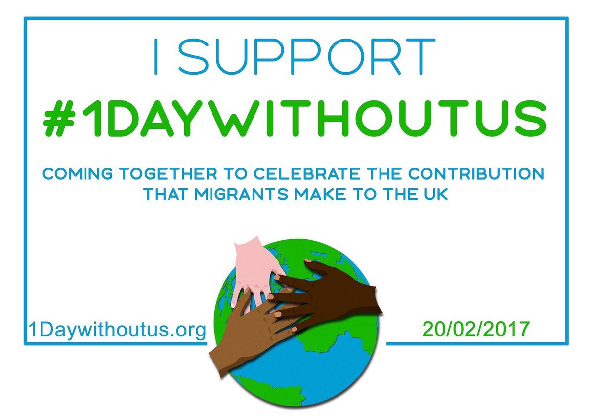 Today we mark the positive contribution made by migrants. Proud to sup...
