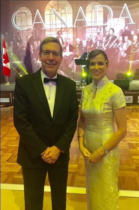 Ravi de participer! Les festivités #Canada150  ont officiellement été lancées av la communauté  à Jkt lors du Bal de charité de Maple Leaf. <br>http://pic.twitter.com/KC28D6SK4r