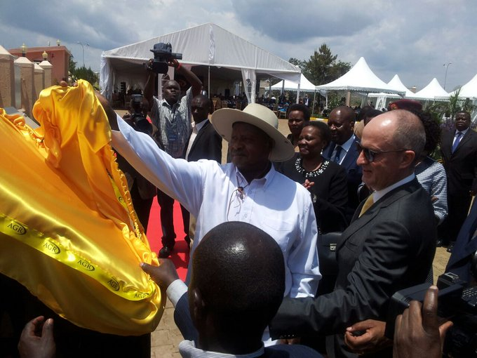 Résultats de recherche d'images pour « Museveni Launches Gold Refinery, to Abolish Royalty Tax »