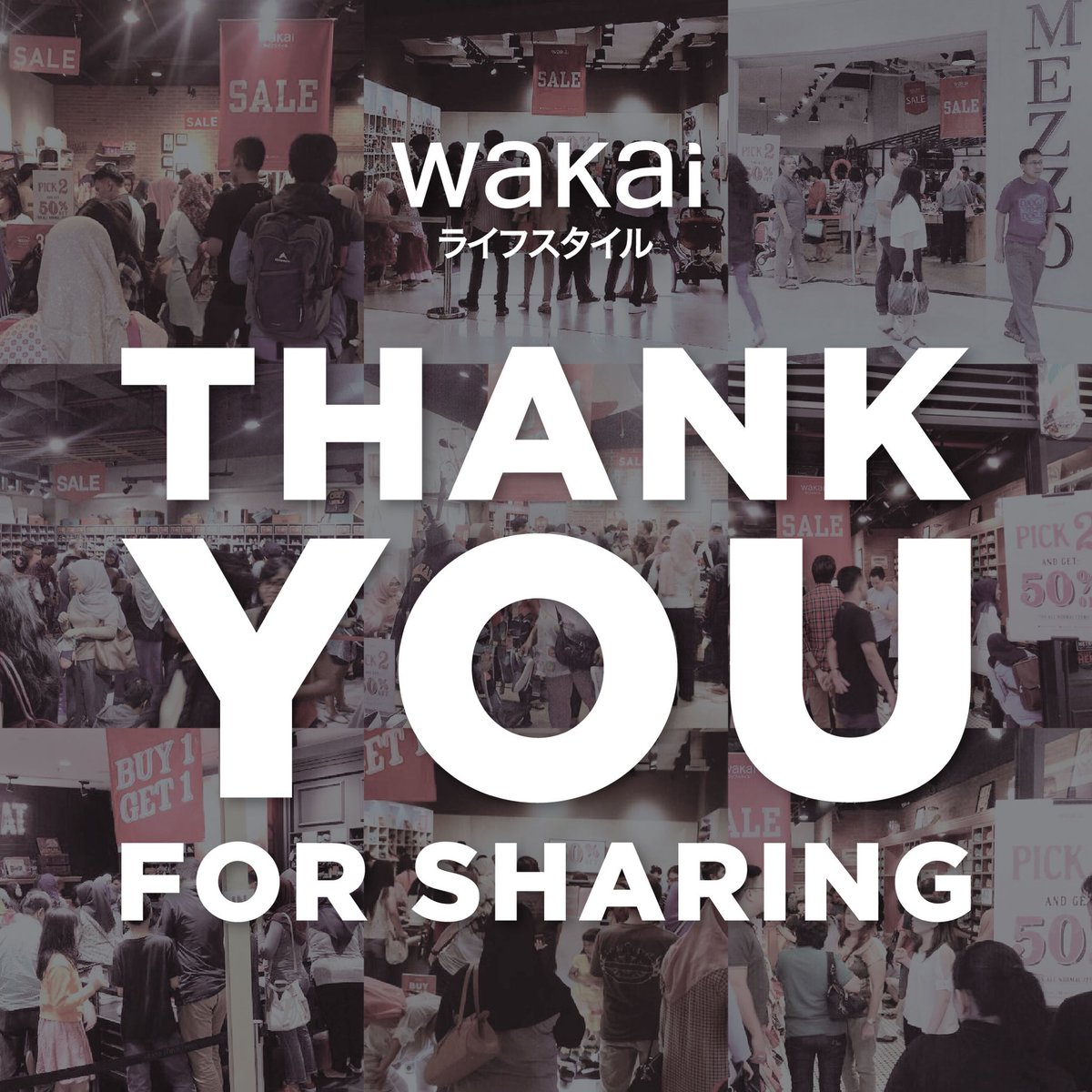 Wakai indonesia on twitter thank you for the unexpected enthusiasm wakai indonesia on twitter thank you for the unexpected enthusiasm warm greetings huge supports and a magnificent crowd kristyandbryce Images