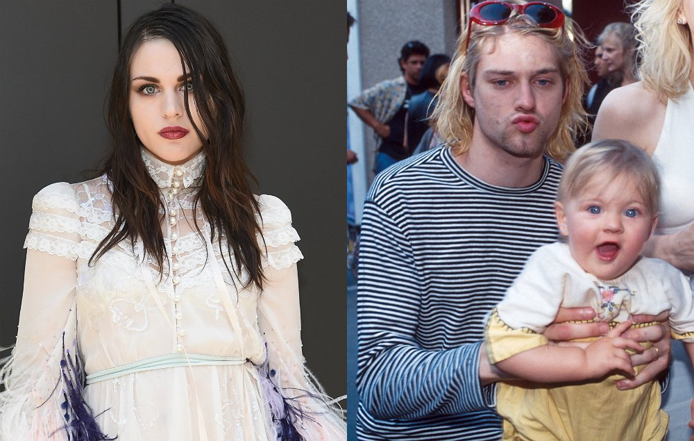 Frances Bean pays emotional tribute to Kurt Cobain on what would have...