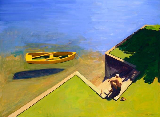 Staying with Contemporary Art Deco Style a little longer with another new (to me) artist Kurt Solmssen #Bright. <br>http://pic.twitter.com/VDft4sSX4m