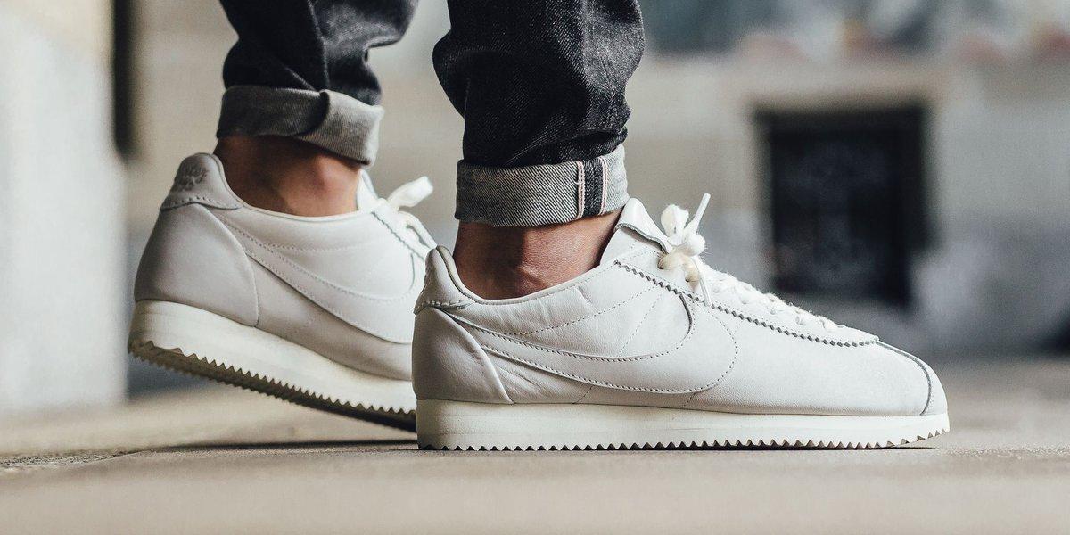 new style 44835 c1384 Nike Classic Cortez Premium QS TZ - Sail Shop now  http   bit.ly 2me6mLB  pic.twitter.com 5vuO2OHNHe