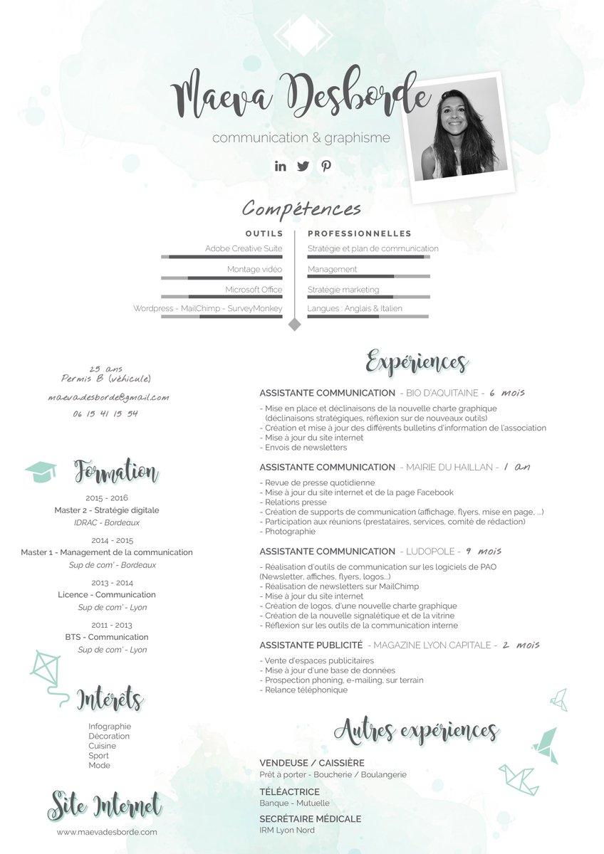 #PleaseRT Recherche #emploi en #communication et/ou #graphisme sur #Bordeaux #i4EmploiR #Merci Site web :  http:// maevadesborde.com / &nbsp;  <br>http://pic.twitter.com/tKTCPxiowN