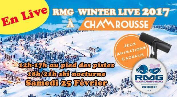 Retrouvez l&#39;équipe en direct de @Chamrousse1700 recoin samedi 25 février ! #ski #snow #radio #Alpes #Grenoble #show<br>http://pic.twitter.com/oySgjlsawT