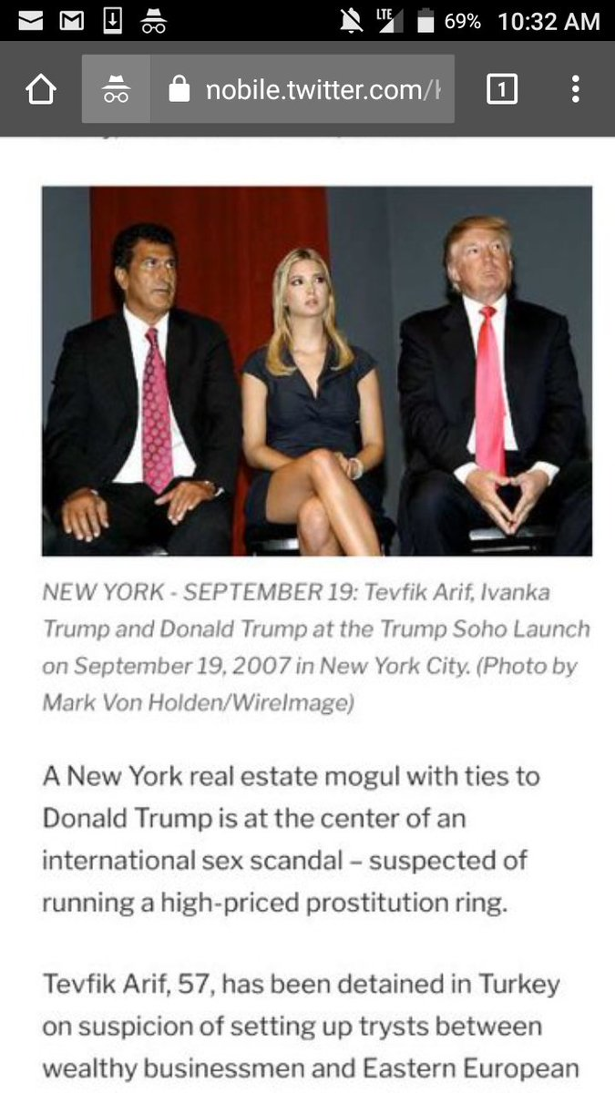 Will Media ask POTUS why he did &quot;DEALS&quot; w/Tevfik Arif, who ran a CHILD PROSTITUTION RING? #TheResistance #CNN #msnbc <br>http://pic.twitter.com/4DkQmpRyuq