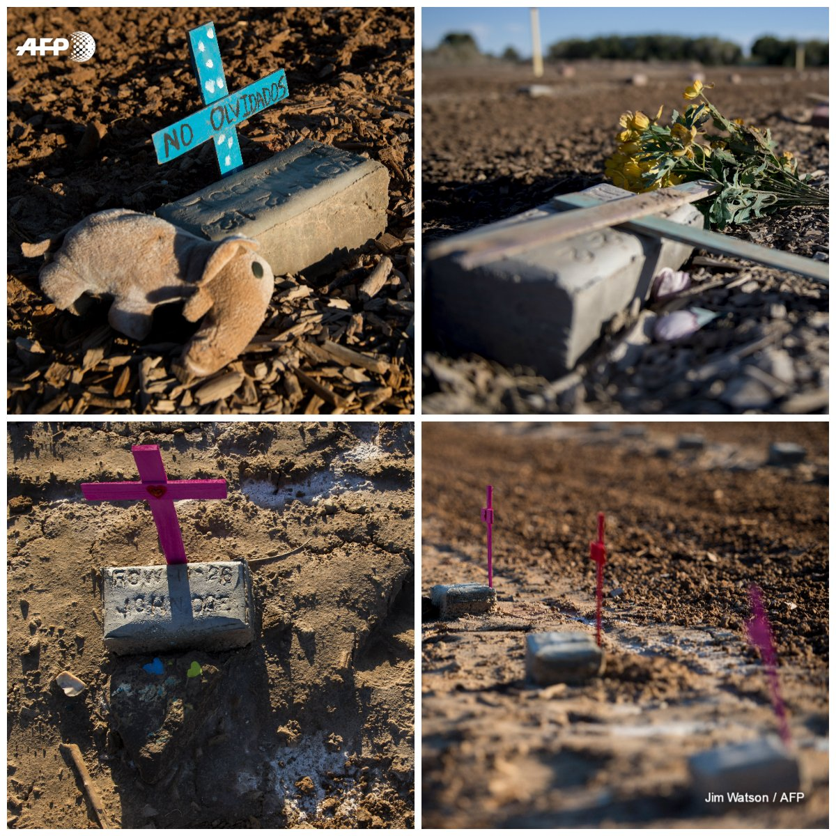 Mexico border series Hundreds unidentified migrants buried