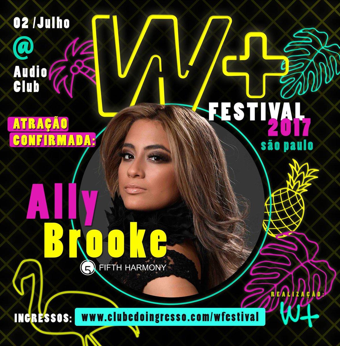 Ally Brooke, do Fifth Harmony, vai fazer o primeiro show solo em São P...
