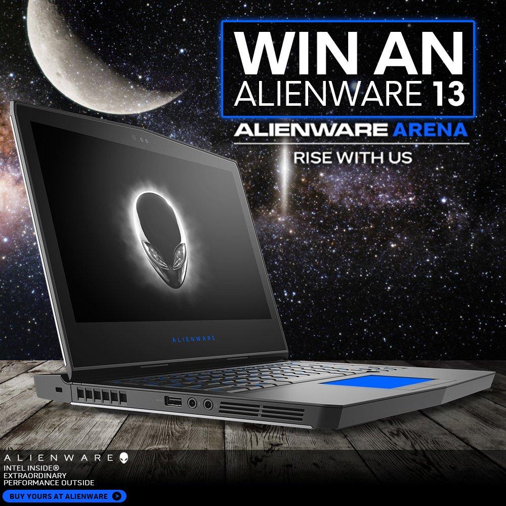 Envie de gagner un #Alienware13 ? Vite, rends-toi sur ce lien :  https://www. alienwarearena.com/pcgamerweekend er &nbsp; …  #concours #gaming #jeu #chance <br>http://pic.twitter.com/OZJSD6nYyW