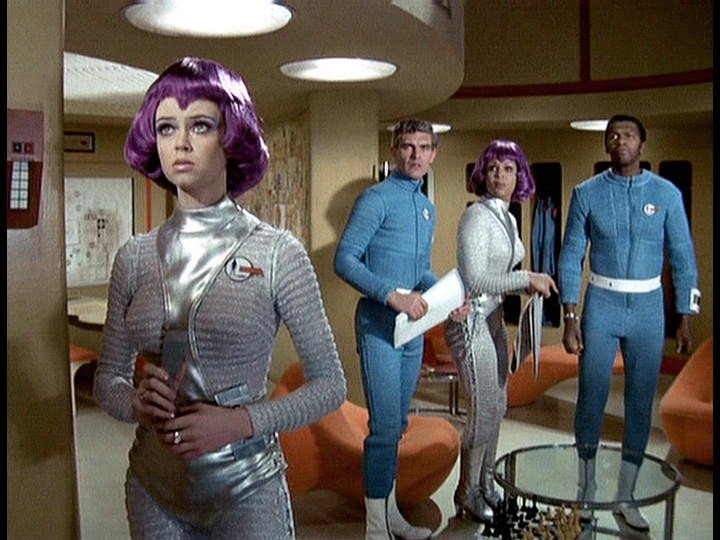 #UFO had some amazing costumes, especially the Moonbase crew. It also featured a lot of drinking and smoking!
