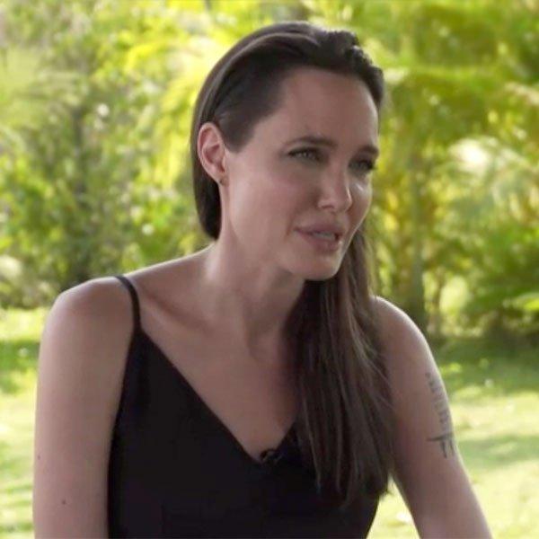#Espectáculos Angelina Jolie rompió el silencio y habló acerca del div...
